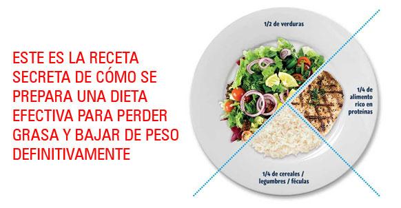 Dieta Para Perder Grasa, Receta Secreta Efectiva Para..